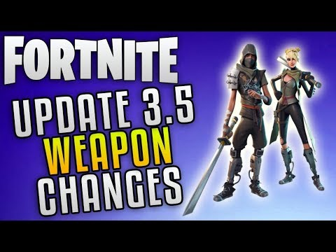 Fortnite Save The World Update 3.5 Info