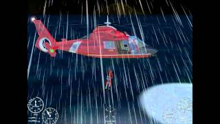 Search and rescue 4: rescuing 2 victims in bad weather