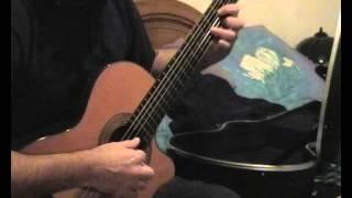 On se retrouvera (Francis Lalanne) à la guitare classique