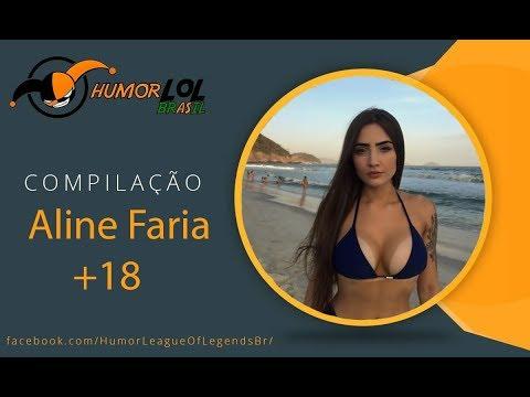 Compilação Aline Faria +18 #HLLBR