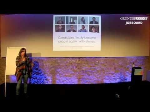 """Experimental Recruiting - Gründerszene """"HR and Digital Careers Meetup"""" - Anna Ott (Hubraum)"""