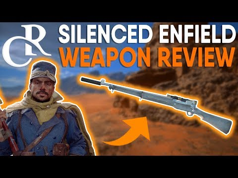 CAMPER'S PARADISE - M1917 Enfield SILENCED Weapon REVIEW! - Battlefield 1