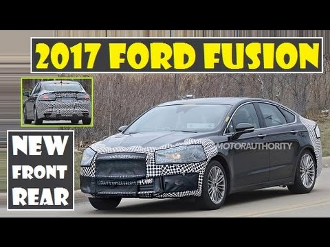 2017 Ford Fusion Spied Seeing Changes Made To The Front And Rear Sections Of Car You