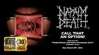 Napalm Death  Call That An Option Album... @ www.OfficialVideos.Net