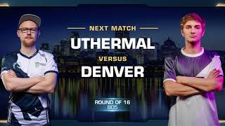 uThermal vs Denver TvZ - Round of 16 - WCS Montreal 2018 - StarCraft II