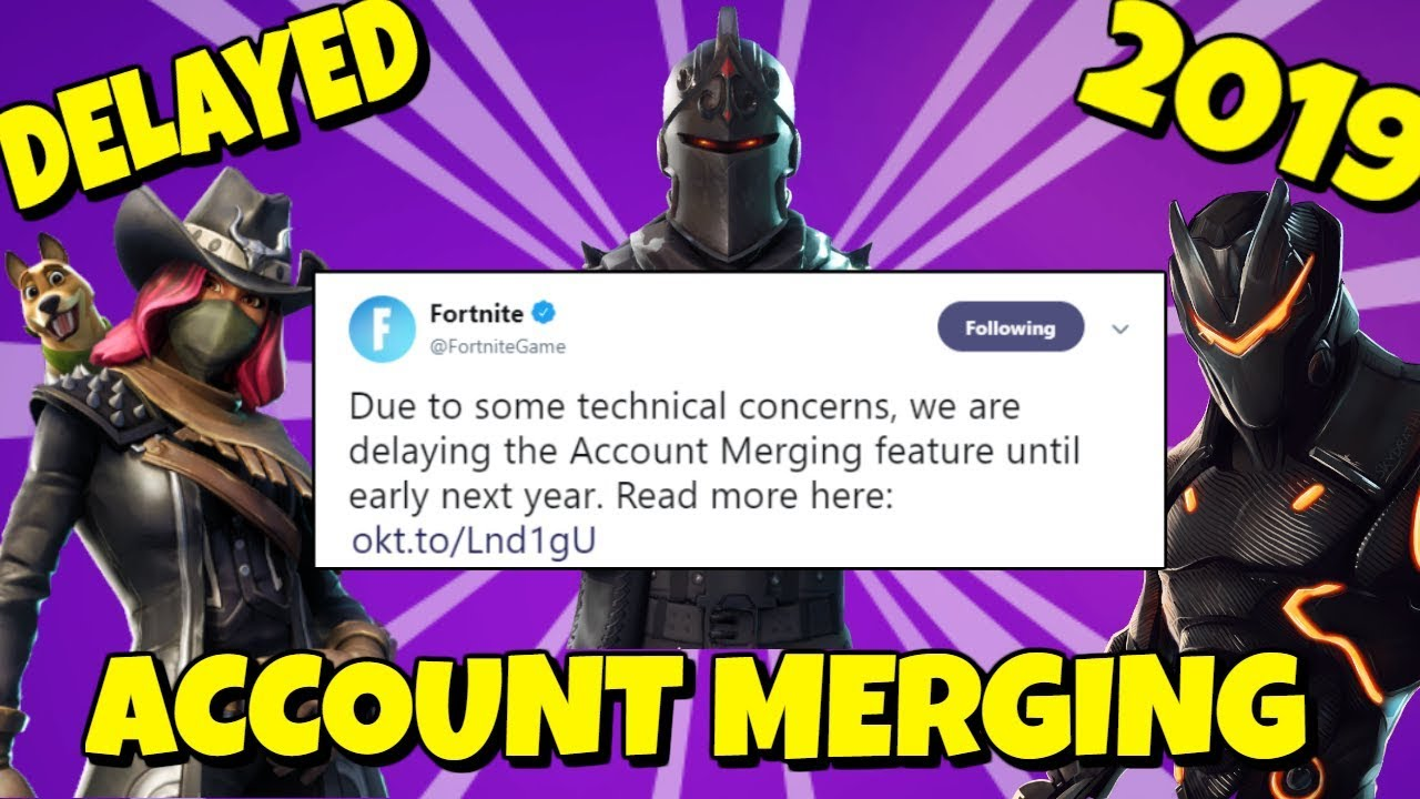 When will ACCOUNT MERGING come to Fortnite: *2019 ...