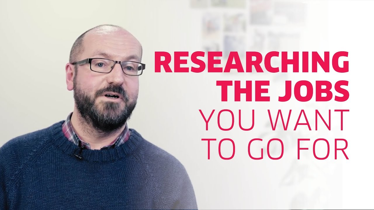 Career Tips For Blind And Partially Sighted Young People Research The Jobs You Want