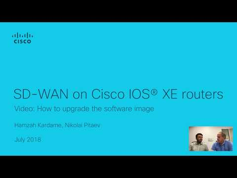 Upgrading Cisco ISR4000 to SD-WAN - YouTube
