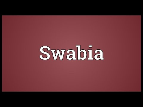 Swabia Meaning