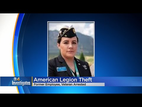 Military Veteran Desiree Noechel Charged In American Legion Theft