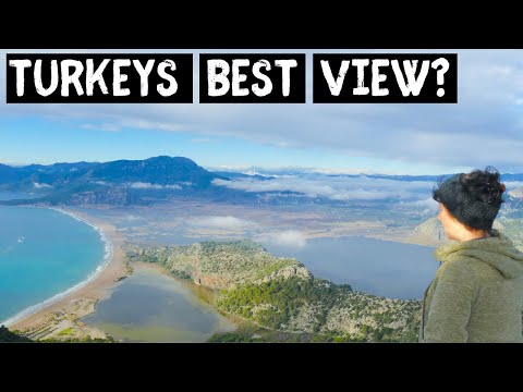 Is this TURKEYS BEST View? BEST spots to visit around DALYAN | Adventure Travel Series