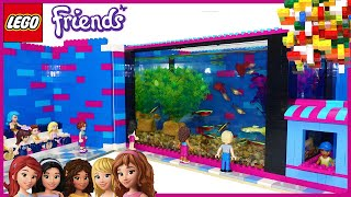Lego Friends - Real Fish World Aquarium by Misty Brick.