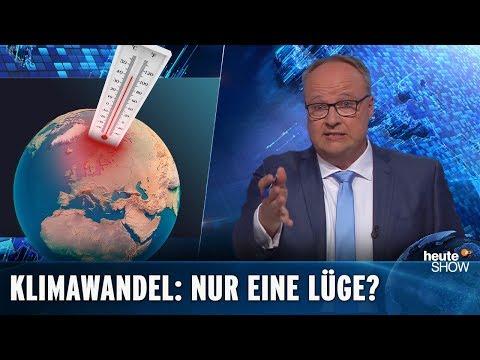 AfD-Forscher: Der Klimawandel ist eine dreckige Lüge | heute-show vom 03.05.2019