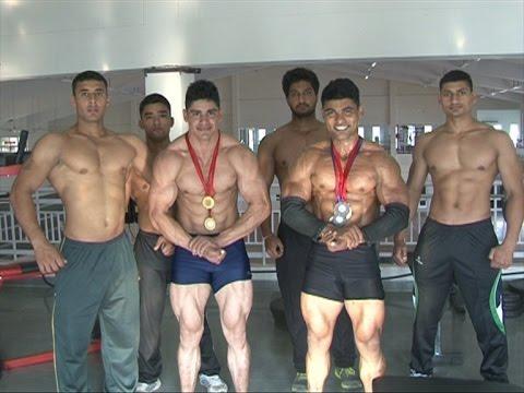 Abu Bakr & Gaurav Kumar going for Mr. India 6th Body Building Tournament
