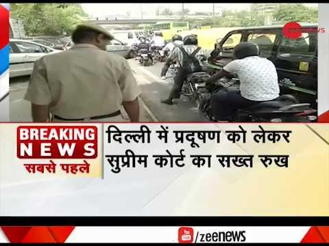 Delhi Pollution: Impound 15-yr-old Petrol, 10-yr-old Diesel vehicles, says SC