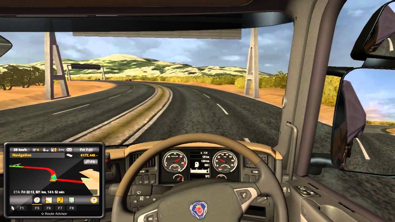 Australia Map Ets2.Euro Truck Simulator 2 Tunis Algeria Tsm Map Mod