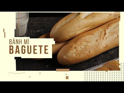 Quy Trình Làm Bánh Mì Baguette Tiêu Chuẩn Pháp | Hướng Nghiệp Á Âu