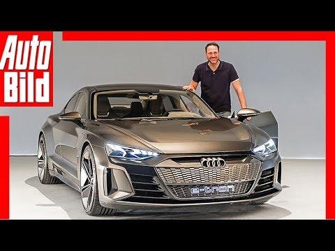 Audi e-tron GT Concept (2018) Vorstellung / Sitzprobe / Review
