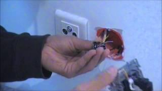 Comment faire le  branchement d'une prise RJ45 vidéo 3