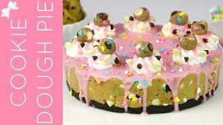 How To Make No-Bake Funfetti Cake Batter Cookie Dough Pie // Lindsay Ann Bakes