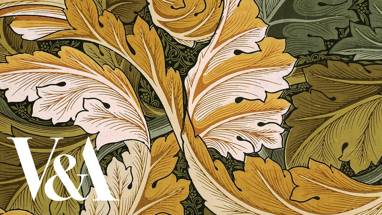 How was it made? Block printing William Morris Wallpaper   V&A