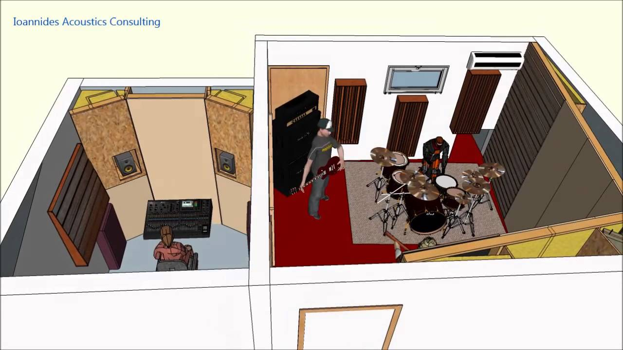 home recording studio design pdf