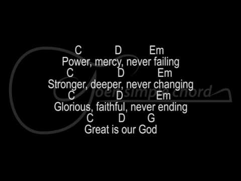 More Than Enough - JPCC Worship lyric and chord