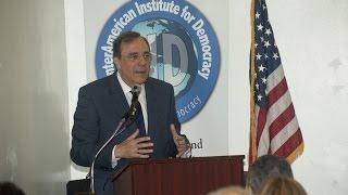 Carlos Alberto Montaner - Conferencia «Las nuevas relaciones entre Estados Unidos y Cuba»