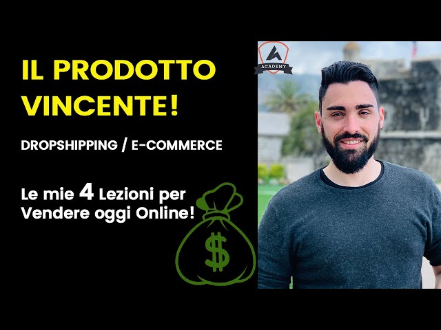 Come Vendere Online con Dropshipping / E-commerce - Il prodotto VINCENTE!