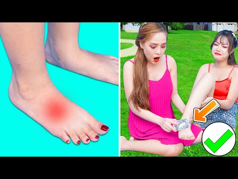 Girl DIY! 23 SMART BEAUTY HACKS FOR PERFECT SKIN! Beauty Life Hacks Can Save Girls Life by T-studio