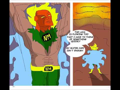 Home Made Comic Nature Man Son Of Mother Nature Part 1