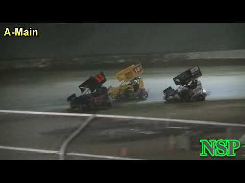 July 14, 2017 Clay Cup Nationals 600 Restricted Mini Sprints A-Main Deming Speedway