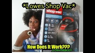 Shop Vac Review �or👎?? |Lowes|