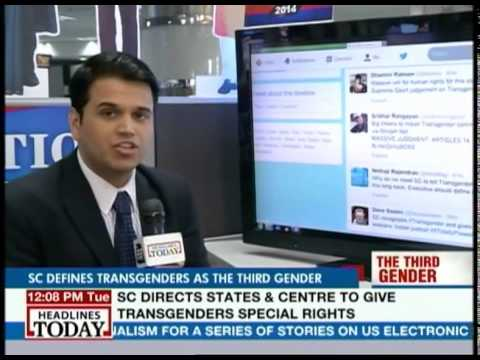 Twitter abuzz with transgenders being given official category
