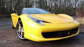 Ferrari 458 Italia! Test Drive & Review!