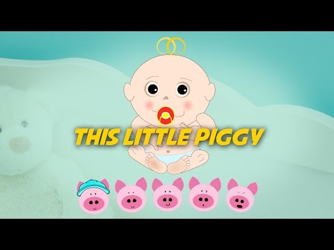 This Little Piggy | Free Nursery Rhymes [Karaoke with Lyrics]