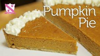 Thanksgiving - Pumpkin Pie Recipe