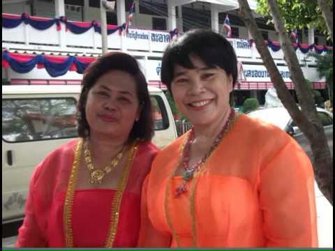 ชุดประจำชาติในอาเซียนโรงเรียนเมืองใหม่ฯลพบุรี