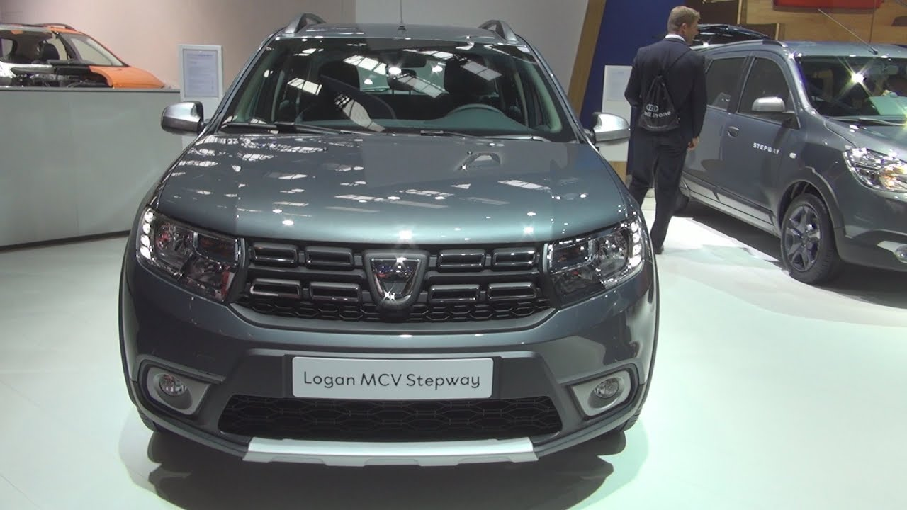 dacia logan mcv stepway celebration tce 90 s s easy r 90 2018 exterior and interior youtube. Black Bedroom Furniture Sets. Home Design Ideas