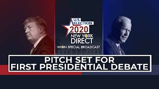 US Election 2020: Trump & Biden gear up for live face-off