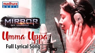 umma-uppa-full-al-song---making-mirror-movie-songs-srinath-haritha