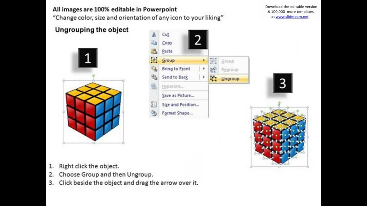 medium resolution of problem solved solution rubiks cube powerpoint slides and ppt diagram templates presentation infogra