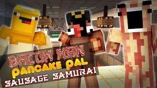 Minecraft Adventures of Bacon Man : DEATH RUN!
