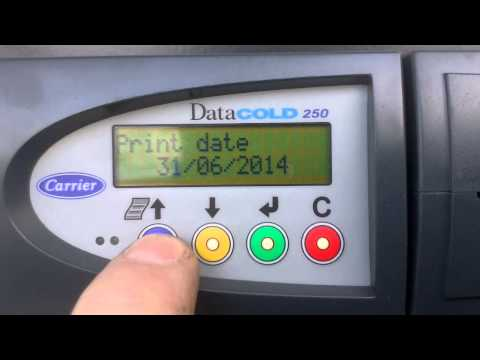 видео: Как снять распечатку с температурного регистратора datacold