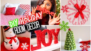 Diy Holiday Room Decor + Ways To Decorate! 2014