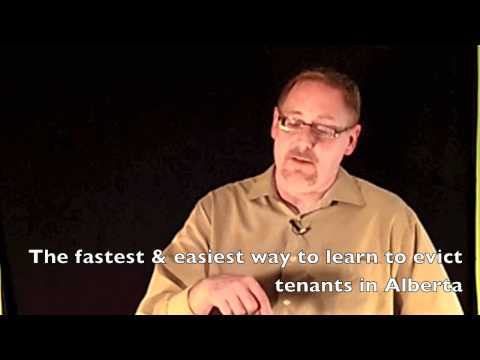Alberta Eviction Process - How to evict tenants in Alberta using the RTDRS