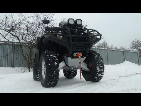 Тюнинг квадроциклов Хайсан. HiSUN ATV 700H EFI