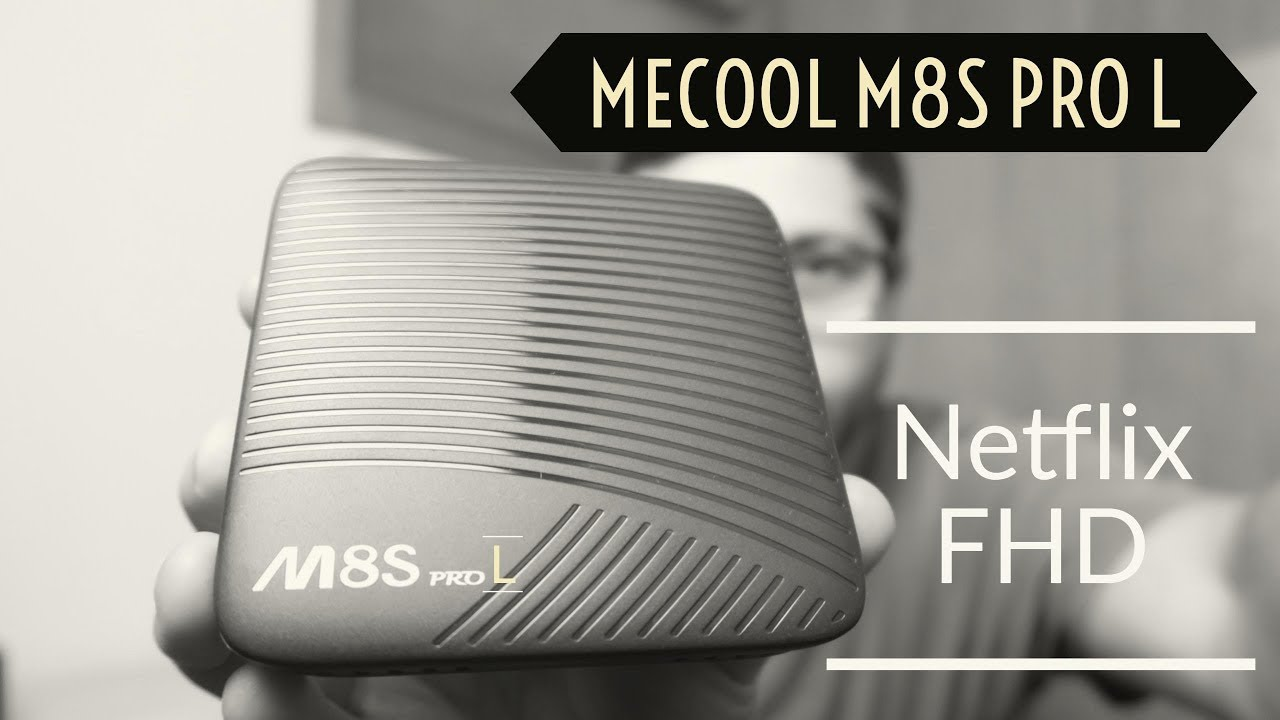 Home Cinema] - Mecool M8S PRO L 4K TV Box Amlogic S912