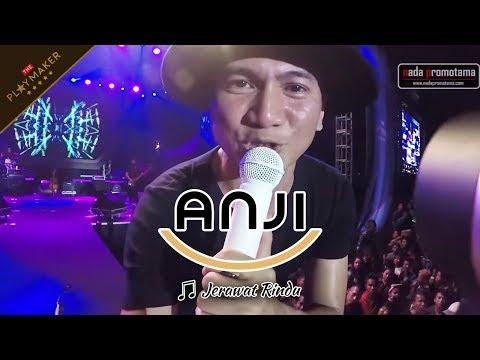 JERAWAT RINDU | ANJI [Live Konser 22 April 2017 di Lap. Arhanudse Pilang Cirebon]