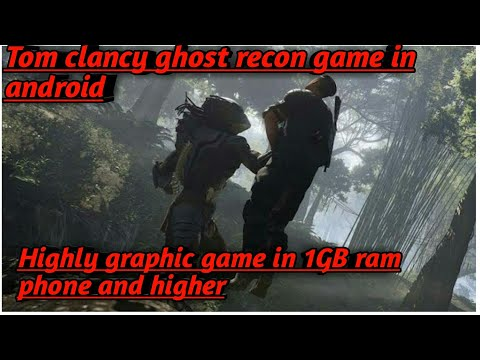 Download Tom Clancy's Ghost Recon Predator Highly Graphic Game Iv Vivo / Oppo Mobile And Any Android